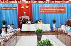 Revisan preparativos de provincia vietnamita de An Giang para elecciones parlamentarias