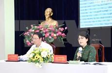 Ciudad Ho Chi Minh presenta lista preliminar de candidatos a elecciones parlamentarias