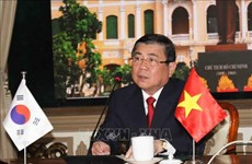 Ciudad Ho Chi Minh y provincia surcoreana de Jeolla del Norte impulsan cooperación