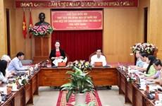 Revisan preparativos para próximas elecciones legislativas en provincia vietnamita