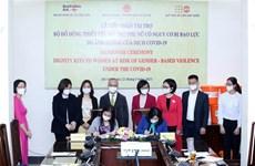 Vietnam recibe kits esenciales para ayudar a mujeres afectadas por COVID-19