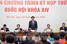Asamblea Nacional de Vietnam completará puestos de liderazgo del Estado