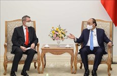 Primer ministro de Vietnam recibe a embajador de Austria