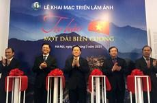 Exhibición fotográfica honra belleza de la frontera vietnamita