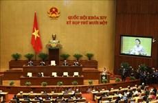 Inauguran XI período de sesiones del Parlamento de Vietnam