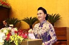 XI período de sesiones parlamentarias pavimenta desarrollo del aparato estatal vietnamita