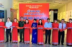 Inauguran exposición temática sobre Asamblea Nacional de Vietnam