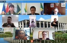 ASEAN se sitúa en tercera posición en intercambio económico y comercial con Brasil