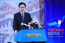 Tres prioridades de Vietnam al presidir por segunda vez Consejo de Seguridad