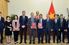 Tratado de libre comercio Vietnam-Reino Unido entrará en vigor en mayo