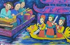 Efectúan concurso internacional de dibujo infantil sobre amistad Rusia-Vietnam