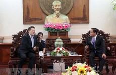 Ciudad vietnamita de Can Tho promueve la atracción de inversiones de Japón