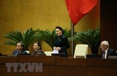Aprueban relevo de Presidente de la Asamblea Nacional de Vietnam