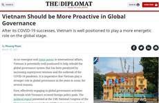 Vietnam debería ser más proactivo en gobernanza global, según prensa internacional