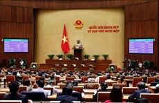 Realizan proceso de elección a presidentes del Parlamento y Consejo Electoral Nacional de Vietnam