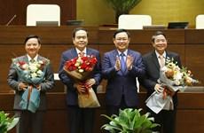 Elige Parlamento de Vietnam a sus vicepresidentes