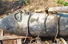 Desactivan en Vietnam bomba remanente de guerra de 113 kilogramos