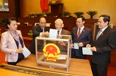 Parlamento de Vietnam ratifica relevo del Presidente del país