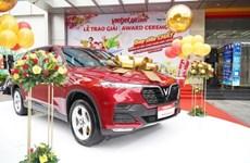 Vietjet Air regala un automóvil de 65 mil dólares a su pasajero más afortunado