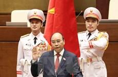 Líderes de países en el mundo y del FEM felicitan a nuevos dirigentes de Vietnam