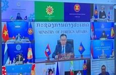 Vietnam presenta propuestas en Reunión de Altos Funcionarios de la ASEAN