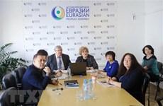Efectúan seminario sobre el papel de Vietnam en el espacio euroasiático