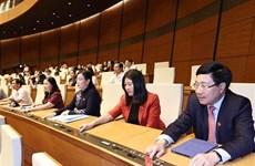Primer ministro presenta lista de nombramiento de vicepremieres y ministros de Vietnam