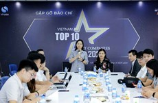 Lanzan programa de 10 empresas vietnamitas líderes de informática