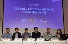 Presentan en Hanoi programas musicales para promover la conexión entre artistas vietnamitas y alemanes