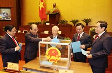 Perfeccionan aparato de los consejos Electoral Nacional y de Seguridad y Defensa