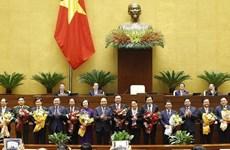 Aprueba Parlamento designación de 12 ministros y titulares de sectores de Vietnam