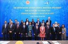 Vietnam preside reunión del Consejo de Seguridad de ONU sobre superación de secuelas de minas