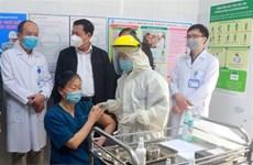 COVID-19: ocho ciudades y provincias finalizan primera fase de vacunación