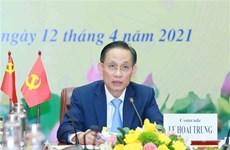Informan resultado de congreso del Partido Comunista de Vietnam a su similar chino