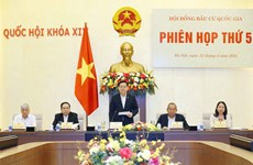 Efectúan quinta sesión del Consejo Electoral Nacional de Vietnam