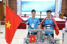 Vietnam conquista oro en campeonato de mecatrónica Asia-Pacífico