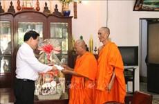Felicitan a comunidad Khmer en Vietnam con motivo de su fiesta tradicional