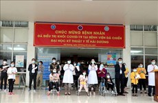 Restan nueve pacientes de COVID-19 en provincia vietnamita de Hai Duong