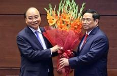 Envían más felicitaciones a los nuevos dirigentes de Vietnam