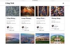 Cong Troi, proyecto de obras artísticas de Vietnam en plataforma digital