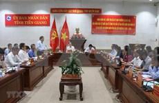 Supervisan en provincia vietnamita de Tien Giang preparativos para próximas elecciones
