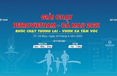 Miles de personas participarán en Carrera PetroVietnam - Ca Mau 2021