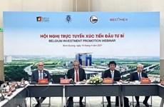 Promueven inversión de empresas belgas en provincia vietnamita de Binh Duong