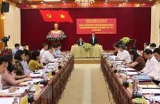 Inspeccionan preparativos en provincia vietnamita para próximas elecciones