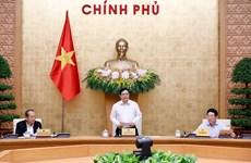Premier Pham Minh Chinh preside reunión sobre el trabajo del Gobierno