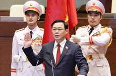 Presidente de Duma Estatal de Rusia felicita a nuevo presidente de la Asamblea Nacional de Vietnam