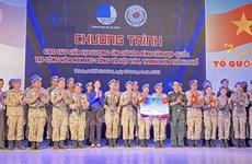 Valoran contribución de cascos azules vietnamitas al mantenimiento de la paz