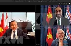 Promueven cooperación económica entre localidades de Vietnam y Canadá