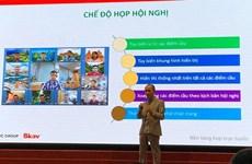 """Lanzan eMeeting, plataforma de conferencia en línea """"hecha en Vietnam"""""""