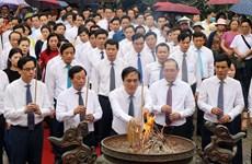 Vietnam celebrará espectáculos pirotécnicos para rememorar a fundadores de la nación